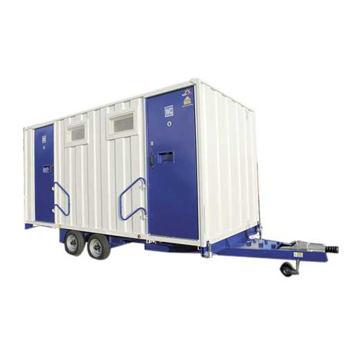 PORTABLE TOILETS ON TROLLEY